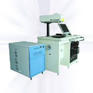 High speed Fiber laser marking machine for zinc