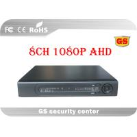 Cloud 8 Channel Tribrid AHD CCTV DVR 1080P / 720P For Mobile Monitoring