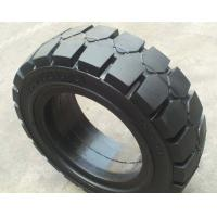 Quality 8.15 15 / 28X9 15 Solid Forklift Tires Three Layers Design With Steel Ring Reinforced for sale