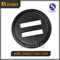 Buy cheap custom metal buttons for coat garment accessories in plating colors from wholesalers