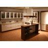 Silestone Countertop Solid Wood Kitchen Furniture , Bright White Closeout Kitchen Cabinets