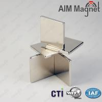 China 10x10x1.5mm Zn plated children Toy strong  Rare Earth Magnet on sale