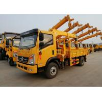 China 6 Tons Straight Arm Truck Mounted Boom Crane Grua With Telescopic Boom on sale