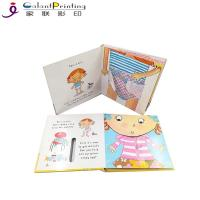 China Educational Die Cutting Custom Hardcover Book Printing Cardboard Touch And Feel Books on sale
