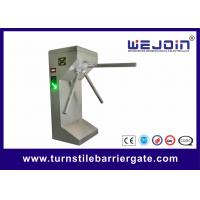 304 Stainless Steel Subway Tripod Turnstile Entry Systems Intelligent Barrier