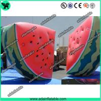 Quality Event Advertising Inflatable Fruits Replica Watermelon Model for sale