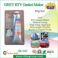 Quality Neutral Curing Grey RTV Gasket Maker , Flexible Resist To Engine Fluids for sale