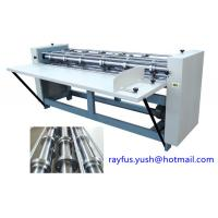 Quality Six Shaft Slitter Scorer Round Knife Circle Wheel Creasing Easy Operate Good Performance for sale