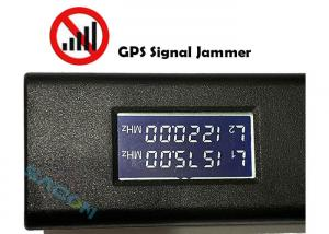 Quality USB Disk Cell Phone GPS Jammer Omni - Directional Antenna Light Weight for sale