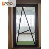 Quality Floor Spring Aluminum Pivot Doors For Interior House Customized Size for sale