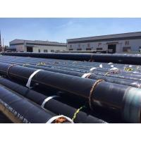 Quality 3LPE 2.0mm  Coated Spiral Steel Pipes API 5L X65 as piles for sale