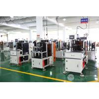Quality Automatic Single Phase Motor Stator Lacing Machine CNC Controller White Color for sale