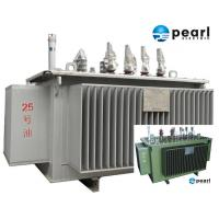 Quality 33 KV - 500 KVA Low Noise Power Transformer Low Loss ONAN / ONAF Cooling for sale