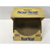 China Collapsible Cardboard Display Boxes Matte Varnish , Mouth Open Display Boxes on sale