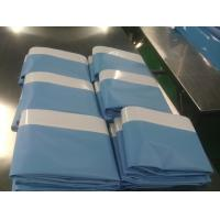 Quality Adhesive Disposable Surgical Drapes Disposable Sterile Side Drape Sheet With Tape for sale