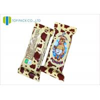 Quality Customized Glossy Finished Snack Food Packaging Bags For Milk Chocolate Sugar for sale