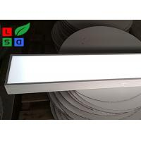 Quality 1200W X 200Hx 80D LED Shop Display LED Light Box Indoor Use Single Sided White for sale