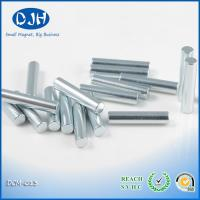 China Cylinder Super Strong Rare Earth Magnets Plating Nickel / Zinc NdFeB Magnets on sale
