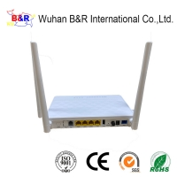 Quality 4GE VOIP 2.4G 5G WIFI 4 External Antenna Dual Band ONU for sale