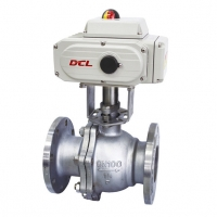 Quality Waterproof DN125 Ball Valve modulating DCL Compact Actuator for sale