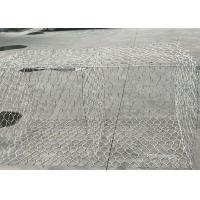 Quality Flexible Hexagonal Gabion Box , Steel Mesh Gabions For Bank Control for sale
