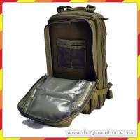 Quality Hot sale polyester cheap tactical 3P backpack green for hiking for sale