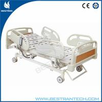 China Central - Locking ABS Semi Electric Hospital Bed , CE Approved Bed on sale