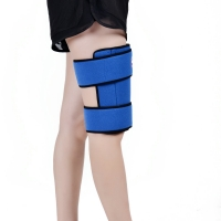 Quality Blue FDA Reusable Ice Pack Wrap For Thigh Pain Relief for sale