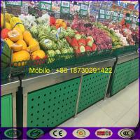 Quality OEM China Green Decorated Iron Shelf for Supermarket as Fence shelf for sale