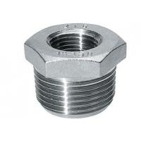 Quality CNC Machined Stainless Steel Pipe Fitting Hexagon Bushing ss316 ss304 for sale