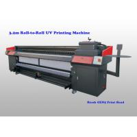 Quality Flatbed Uv Roll To Roll Printer For Flexible Substrates With Ricoh Gen5 Print Head for sale