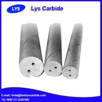 Quality Tungsten carbide rod with double helix holes for sale