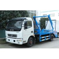 Quality Swing Arm Garbage Waste Removal Trucks Carbon Steel Waste Transport With 5CBM Hopper for sale