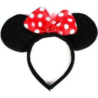 Buy Disney Headband Hat - Plush Minnie Mouse Ears Costume Accessory With Bow For Party at wholesale prices