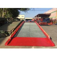 """Buy cheap 32# """" H """" Beam Mobile Container Dock Ramp With Adjust Range 1200 ~ 1700mm from wholesalers"""