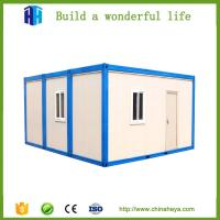 China Low Cost Prefab Mobile Sandwich Panel Container House Chinese Manufacturer on sale