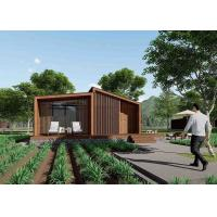 China Unique Style Luxury Prefab House /  Wooden Beach House With High Privacy on sale