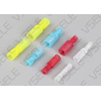 China Pre Insulated Crimp Terminals / Bullet Male And Female Round Crimp Terminal on sale