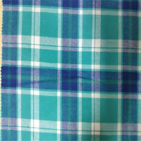 Quality 100% Cotton Flannel Yarn Dyed Fabric Skin Friendly For Girls And Women Dress for sale
