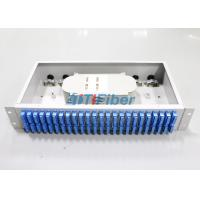 Quality Fixed Fiber Optic Terminal Box with 48 SC Duplex Port for 256 core Cabinet for sale