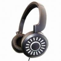 Quality Wired Stereo Headset with 40mm Speaker, 1,000mV Power Capability, Suitable for PC and DVD Players for sale