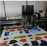 Quality printing advertising material auto feed flatbed cutter table machine for sale