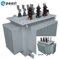 High Efficiency Oil Immersed Transformer 11 kV - 3500 kVA Low Loss Low Noise