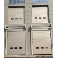 Quality Aluminum Panel Government 220mm Spiral Doors for sale