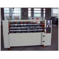 Quality THIN BLADE SLITTER SCORER MACHINE WITH 5 BLADE 8 SCORNER AUTOMATIC SHARPING BLADES for sale