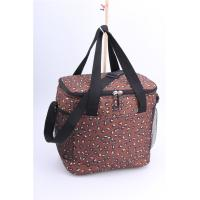 Leopard Print Lunch Totes Heat Transfer Print  for Men with Tote and Strap Design