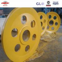 AISI DIN Q235 Alloy Steel Crane Sheave Pulley For Marine Grab Bucket GB