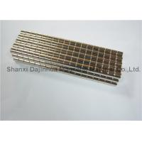 China NdFeB Magnetizing super strong magnets Hign Coercivity Corrosion Resistance on sale