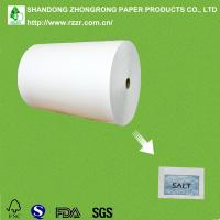 Quality moistureproof PE coated paper for salt for sale