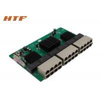 Quality Unmanaged Embedded Ethernet Switch Module 24 Port , Network Switch Board 48Gbps for sale